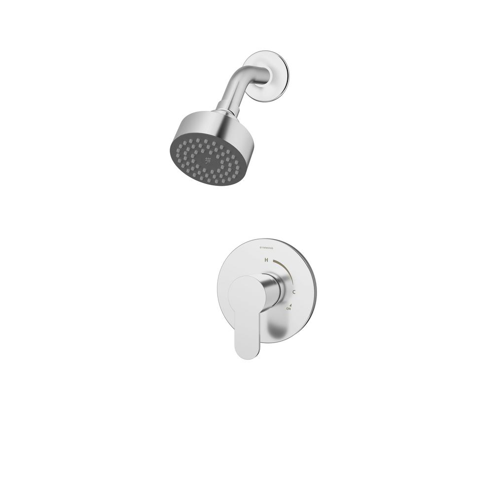 Identity Single-Handle 1-Spray Shower Faucet in Chrome (Valve Included)