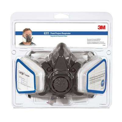 Large Paint Project Respirator Mask (Case of 4)