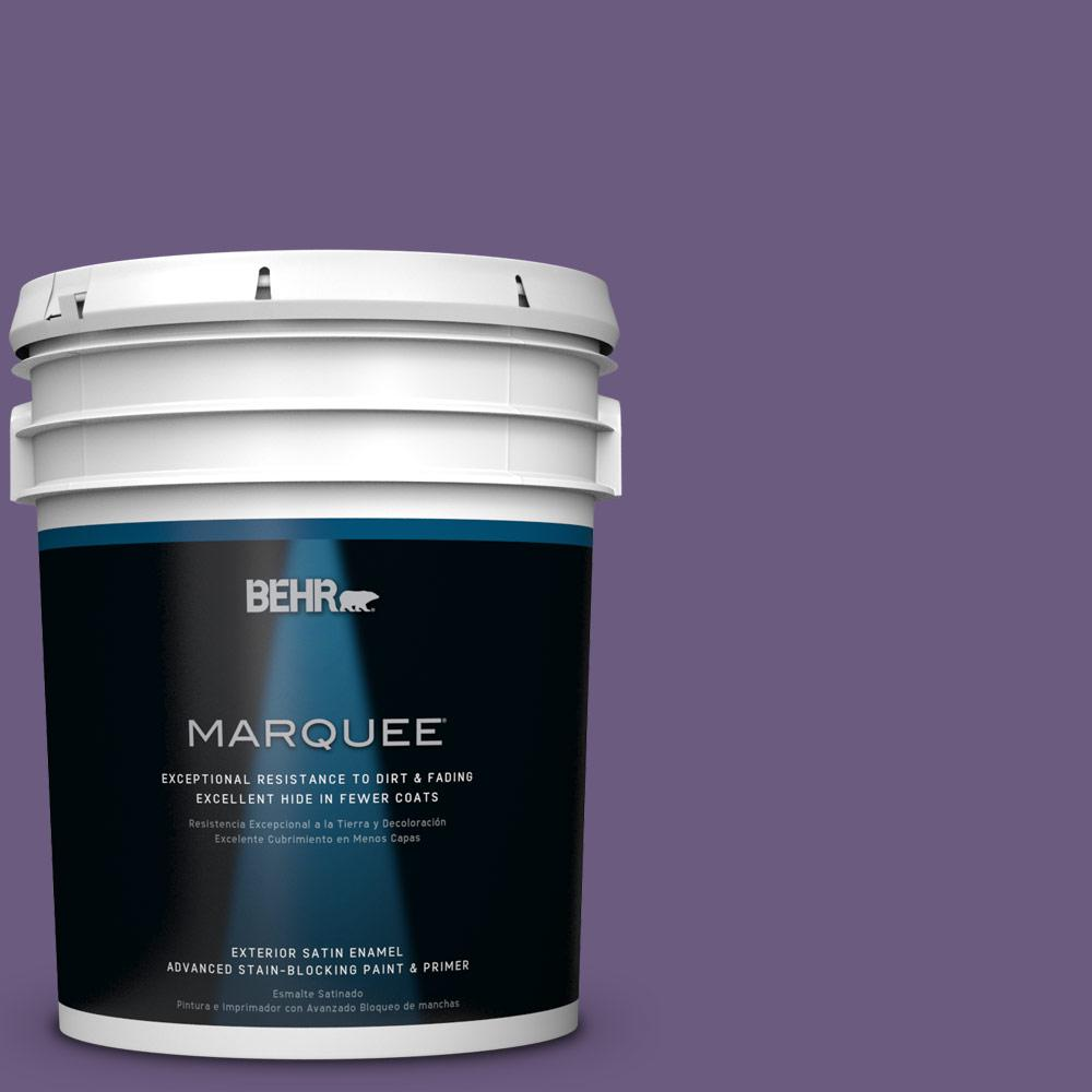 BEHR MARQUEE 5-gal. #M560-6 Napa Winery Satin Enamel Exterior Paint