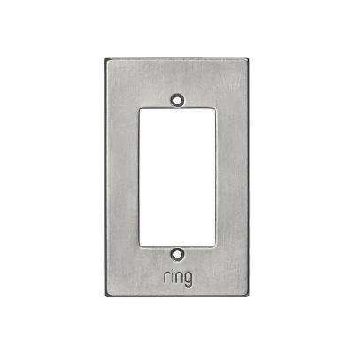 Wired Video Door Bell Elite White Bronze Brushed Faceplate