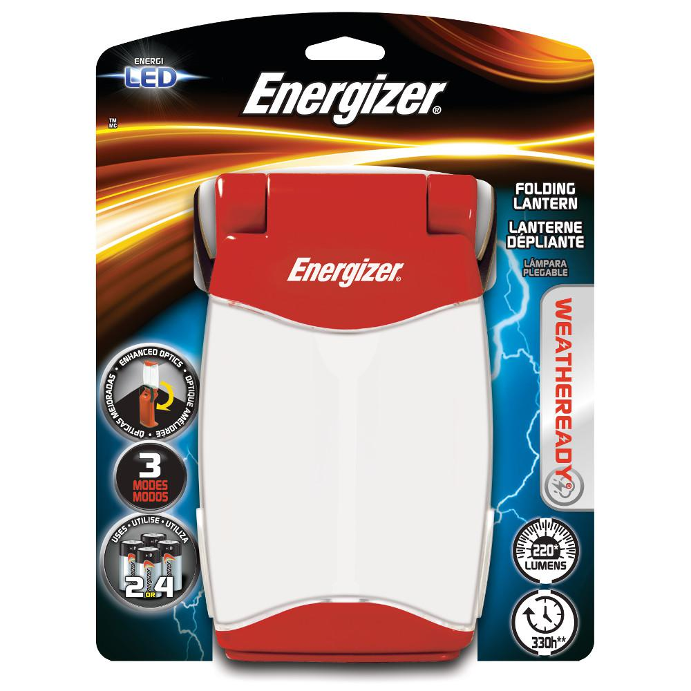 Energizer LED Red Folding Lantern