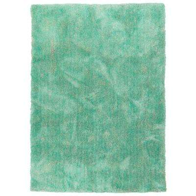 It's So Fabulous Turquoise 2 ft. x 3 ft. Area Rug