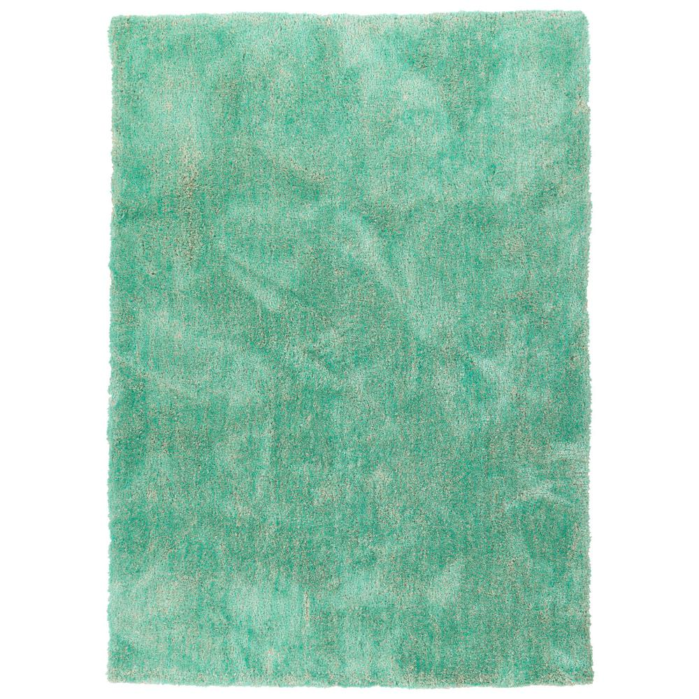 It's So Fabulous Turquoise 8 ft. x 10 ft. Area Rug