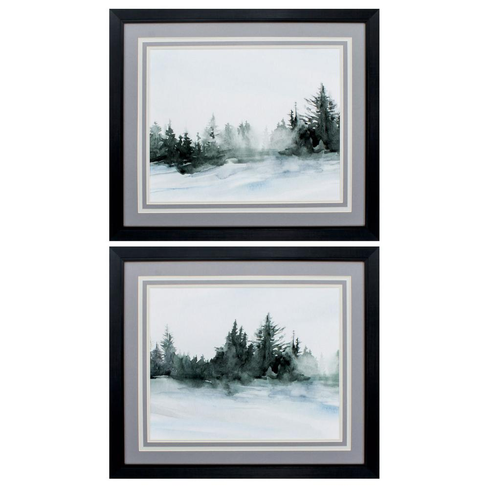 Homeroots Victoria 8 In X 10 In Black Gallery Frame Set Of 2 365422 The Home Depot