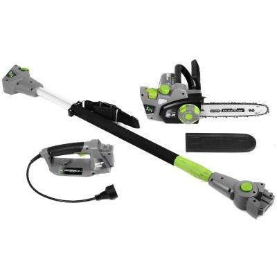 10 in. 6 Amp Electric 2-in-1 Convertible Pole Chainsaw