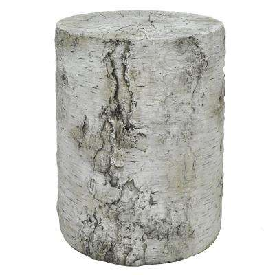 13.75 in. Gray Garden Stool