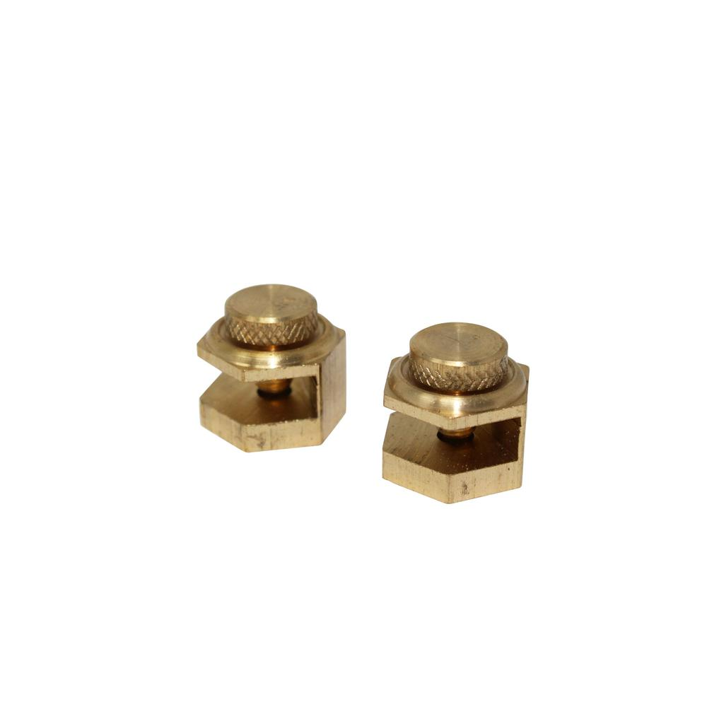 Brass Contractor Angle Stair Gauge (2 Pack)