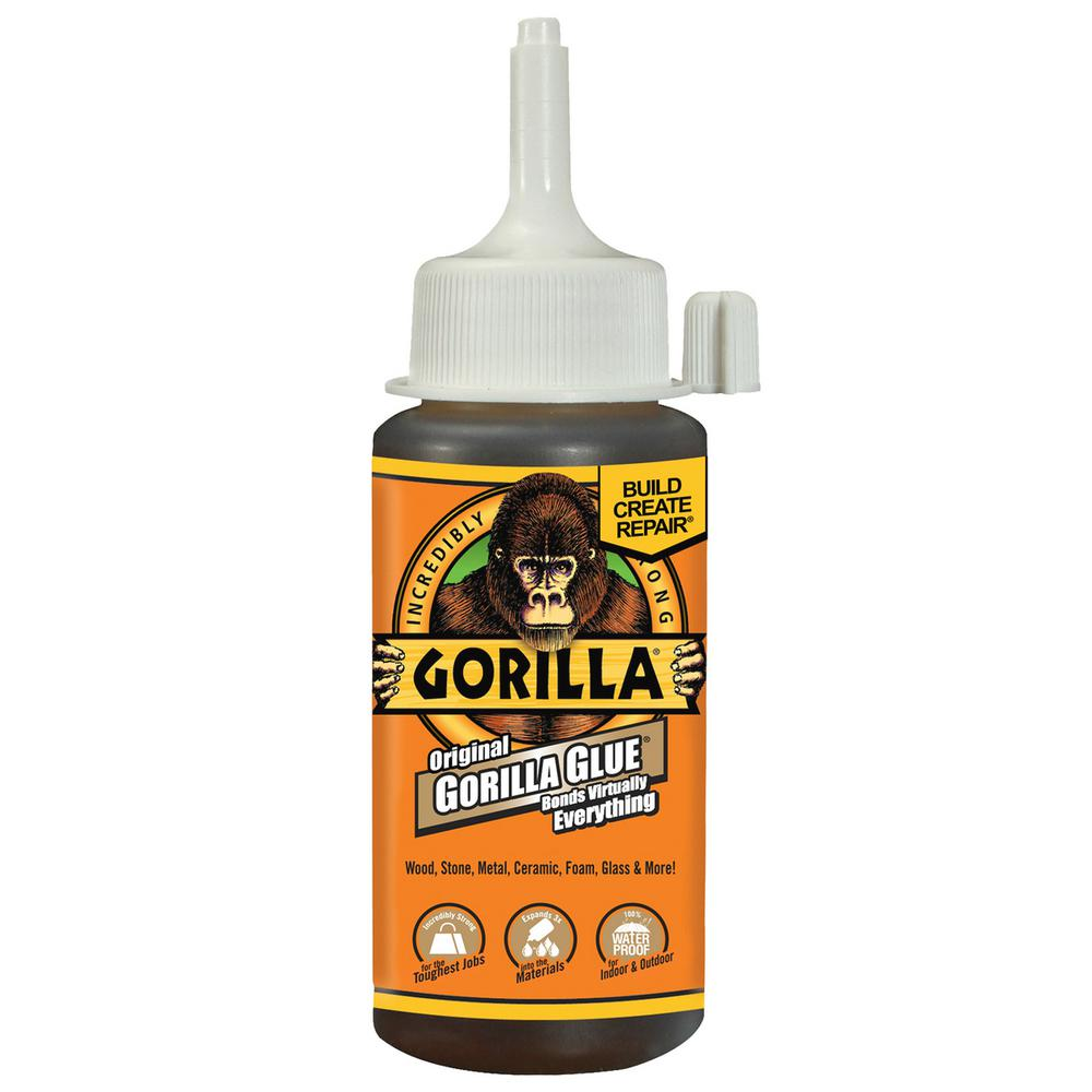 Gorilla Glue Original 4 Oz Glue 16 Pack 50004 The