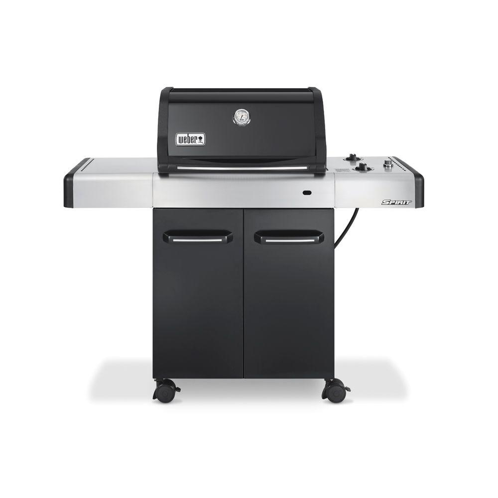 Weber Spirit E-210 2-Burner Propane Gas Grill with Cast Iron Grates-DISCONTINUED