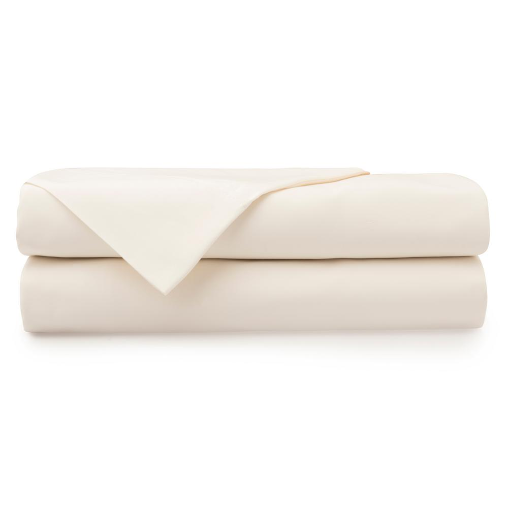 unbranded 4-Piece Parchment 1000 Thread Count Cotton Poly King Sheet Set