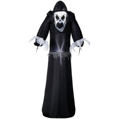 Home Accents Holiday 4.99 ft. Pre-Lit Inflatable Reaper Airblown