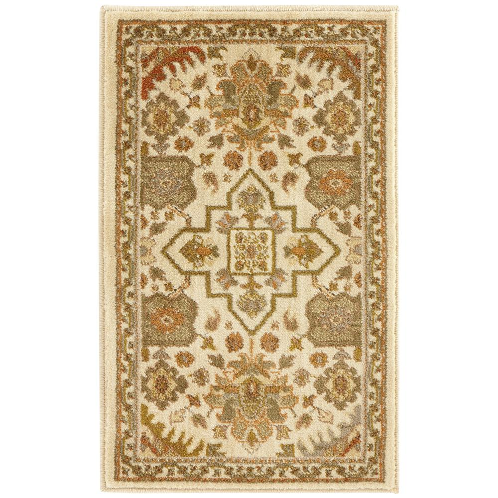 home decorators collection grayson ivory 1 ft 10 in x 3 ft accent rug 450381 the home depot. Black Bedroom Furniture Sets. Home Design Ideas