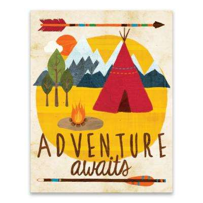 """Adventure Awaits"" by Lot26 Studio Printed Canvas Wall Art"