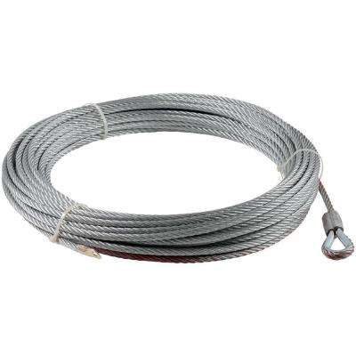 100 ft. x 21/64 in. Wire Rope