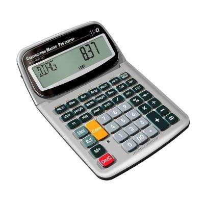 Construction Master Pro Desktop with Full Trigonometric Function