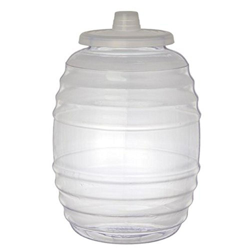 Royal cook 3 gal clear vitrolero aguas frescas tapadera plastic water container with lid vbp3 - Home depot water container ...