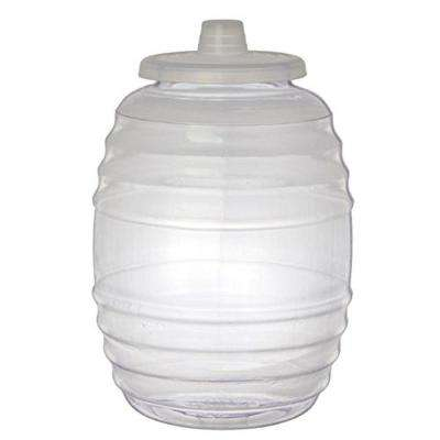 3 Gal. Clear Vitrolero Aguas Frescas Tapadera Plastic Water Container with Lid