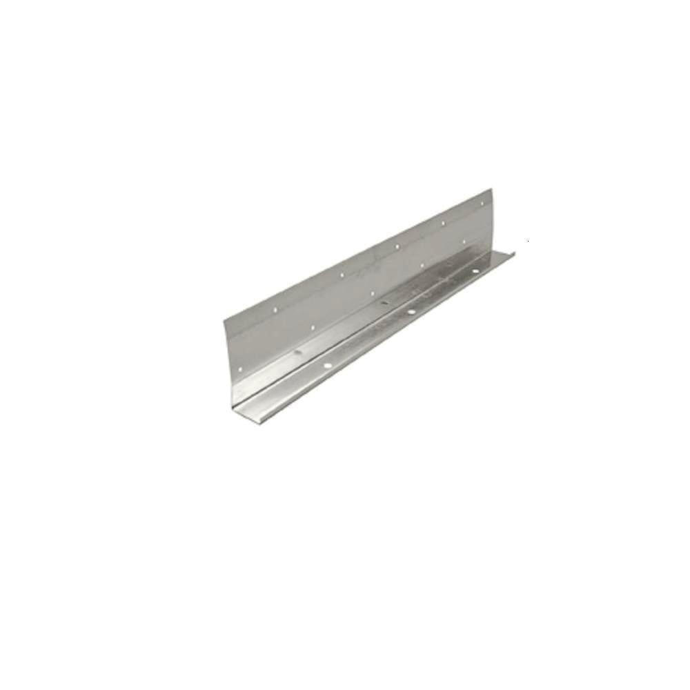 1-3/8 in. x 10 ft. Galvanized J-Trim with Weep Holes