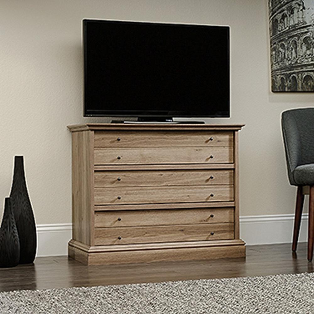 Sauder Office Furniture Barrister Lane 3-Drawer Salt Oak ...