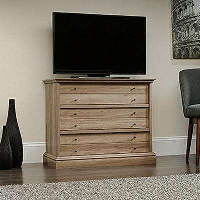 Barrister Lane 3-Drawer Salt Oak Chest