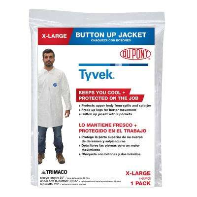 DuPont Tyvek XL Coverall Jacket