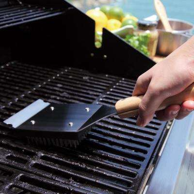 Removable Head Grill Brush