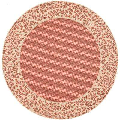 Round Polypropylene Outdoor Rugs Rugs The Home Depot
