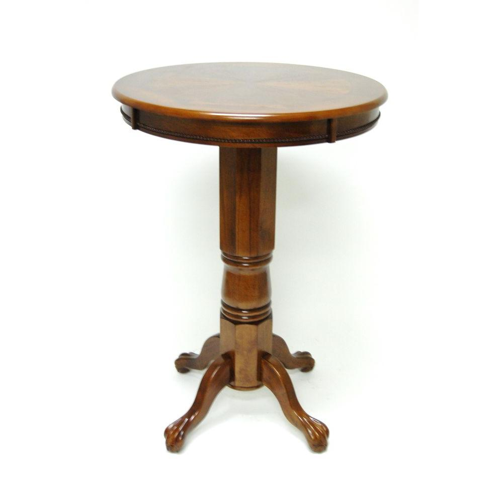 Boraam Florence Walnut Pub/Bar Table