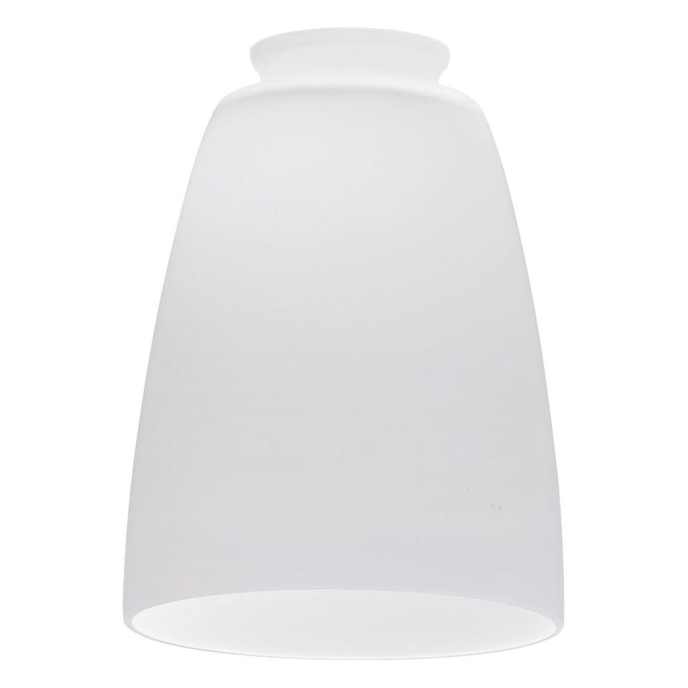 Opal White Bell Glass Shade LED Mini Pendant