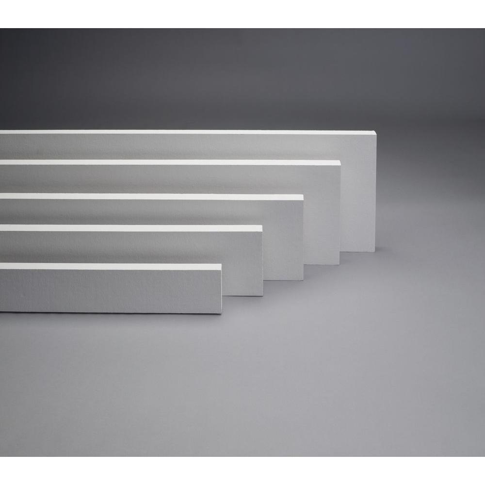 HardieTrim HZ10 .75 in. x 3.5 in. x 144 in. Fiber Cement Smooth Primed Trim Board