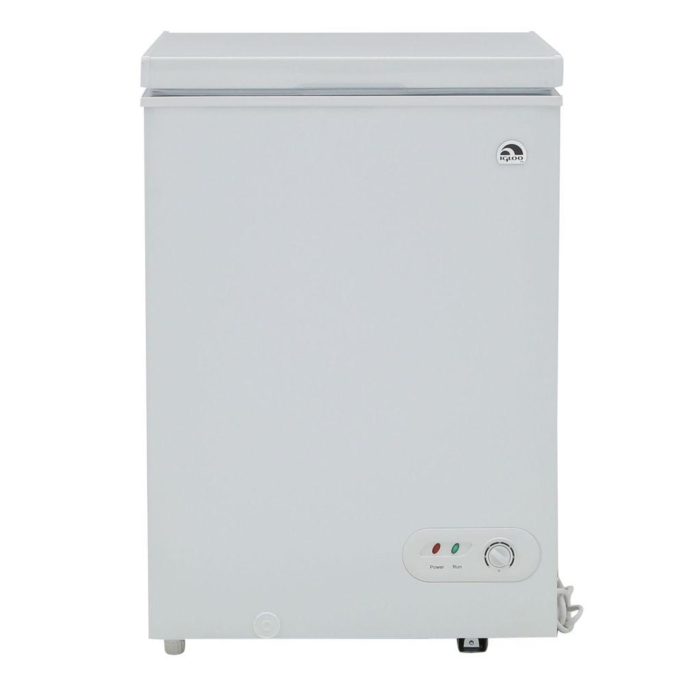 IGLOO 3.5 cu. ft. Chest Freezer in White