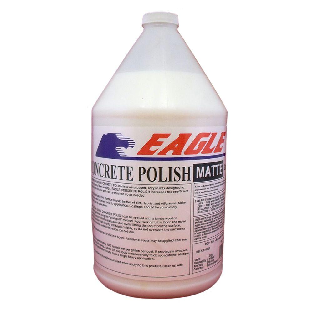 Eagle 1 Gal Concrete Polish Matte Floor Finish Ewm1 The