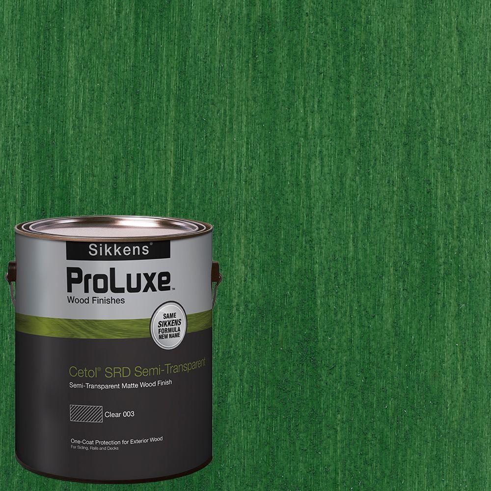 #HDGSRD-ST-414 Forest Green Cetol SRD Semi-Transparent Exterior Wood Finish