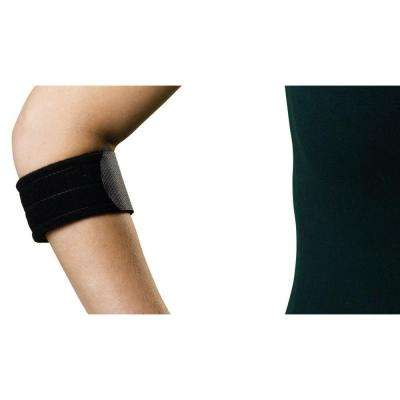 Medium Elbow Sleeve with Compression Strap