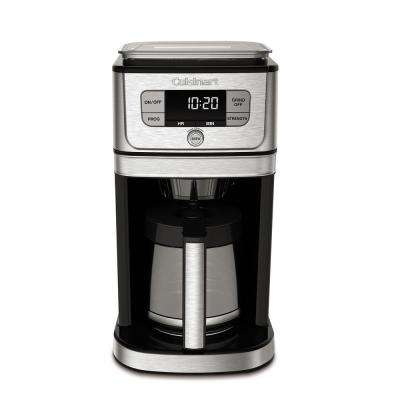 Burr Grind and Brew 12-Cup Coffeemaker In Brushed Stainless