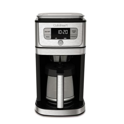 Burr Grind and Brew 12-Cup Stainless Steel Drip Coffee Maker