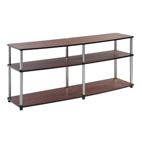 Designs2Go Cherry 3 Tier 60 in. TV Stand