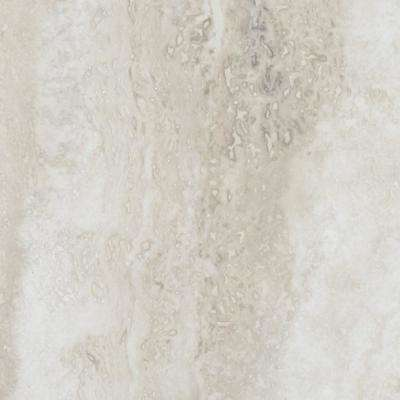 Allure Ultra 12 in. x 23.82 in. Aegean Travertine White Luxury Vinyl Tile Flooring (19.8 sq. ft. / case)