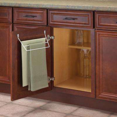 5.5 in. x 12.4375 in. x 3.38 in. Door Mounted Towel Bar