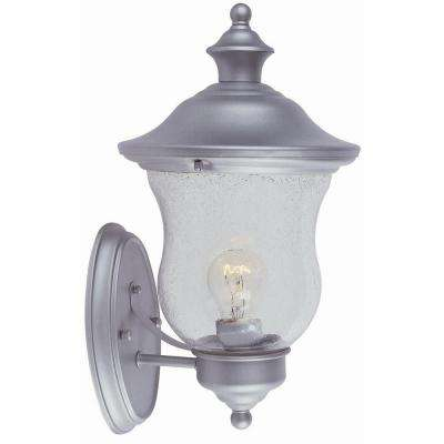 Highland Heritage Silver Outdoor Wall-Mount Uplight