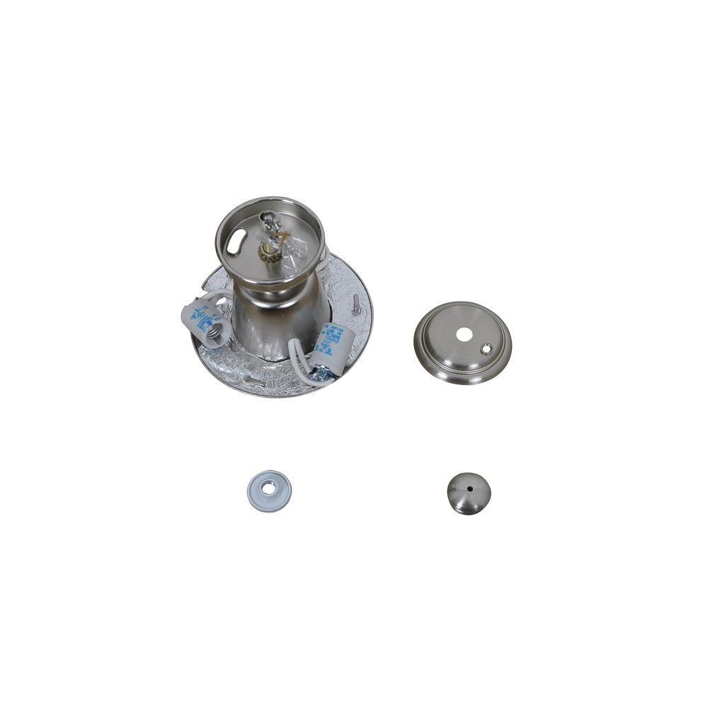 Hawkins 44 in. Brushed Nickel Ceiling Fan Replacement Light Kit