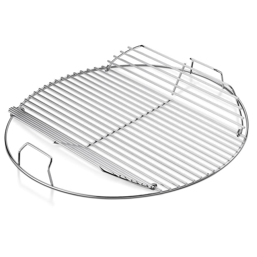 Weber Hinged Replacement Cooking Grate for 18-1/2 in. One-Touch Kettle & Bar-B-Kettle Charcoal Grill
