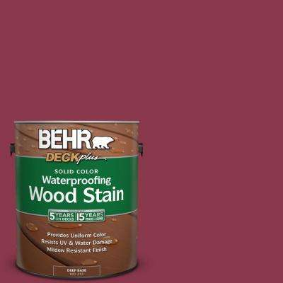 1 gal. #PPU1-12 Bolero Solid Color Waterproofing Wood Stain