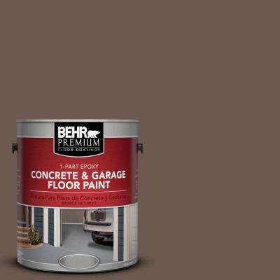 1 gal. #N180-7 Oiled Teak 1-Part Epoxy Concrete and Garage Floor Paint