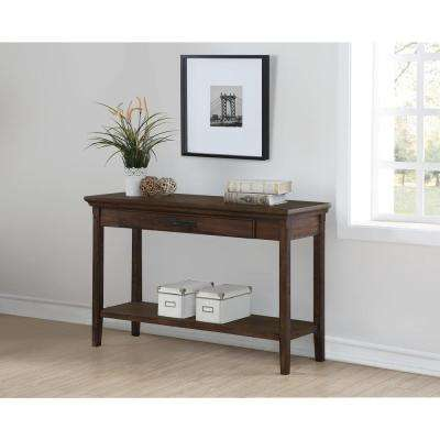 Rockwell Distressed Wheat Console Table