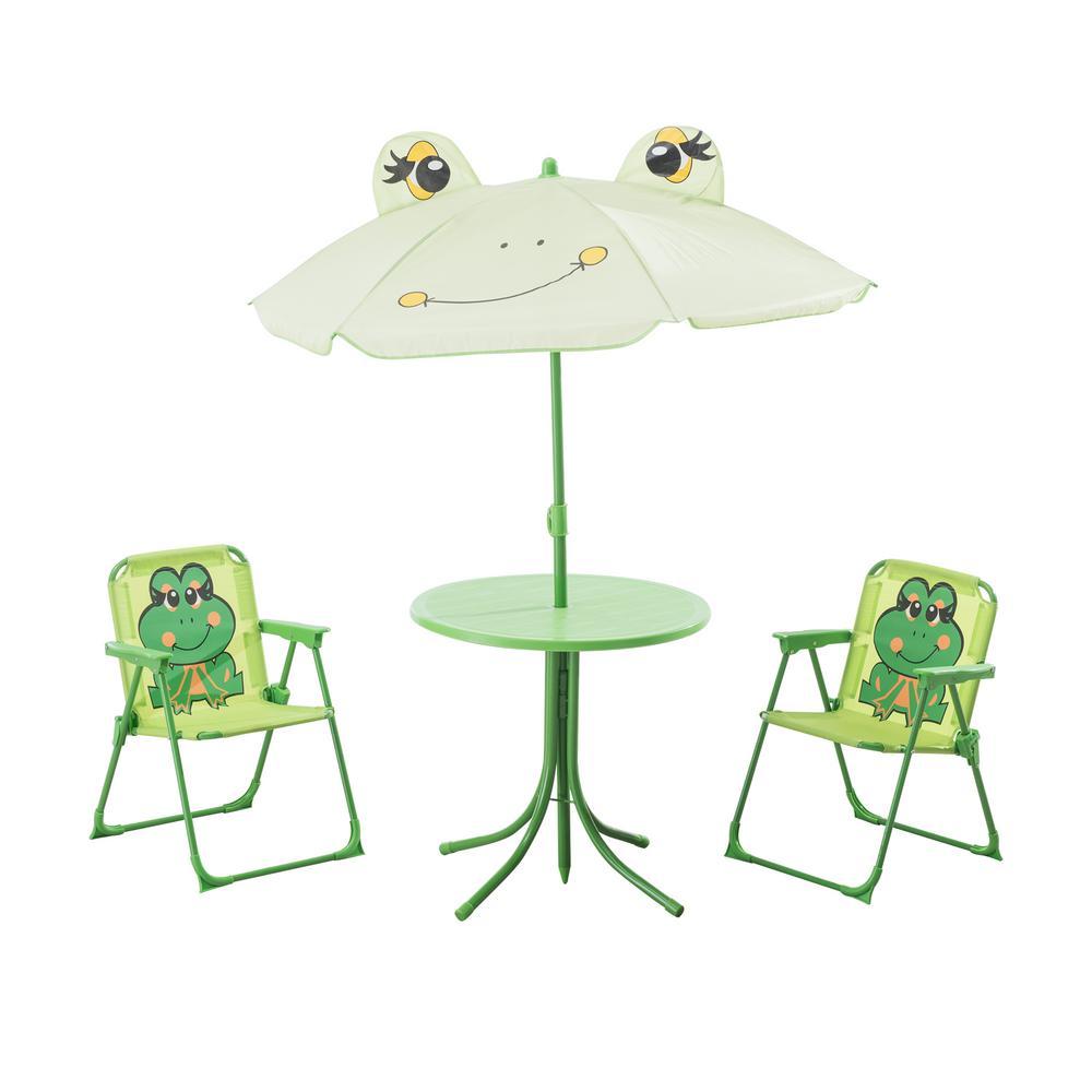 Frog 3-Piece Kiddy Patio Bistro Set