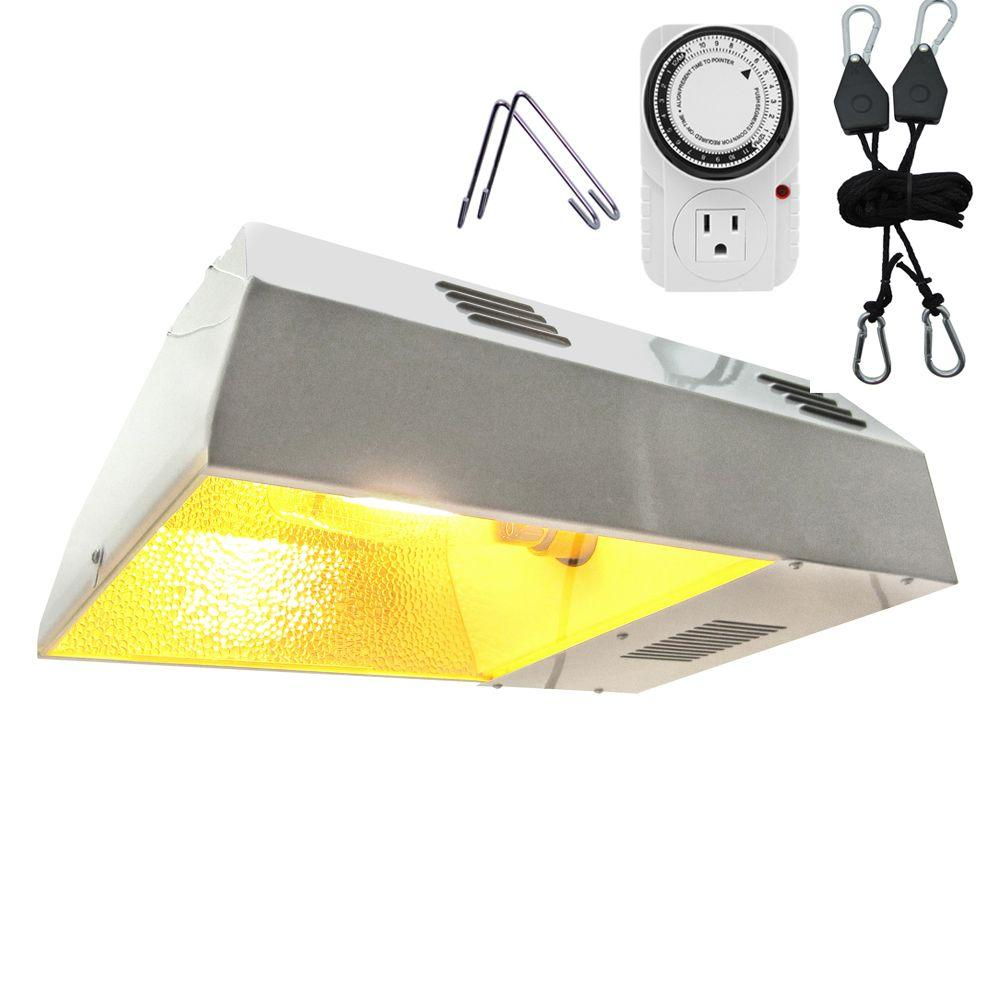 ViaVolt 250-Watt HPS White Plant Grow Light Kit
