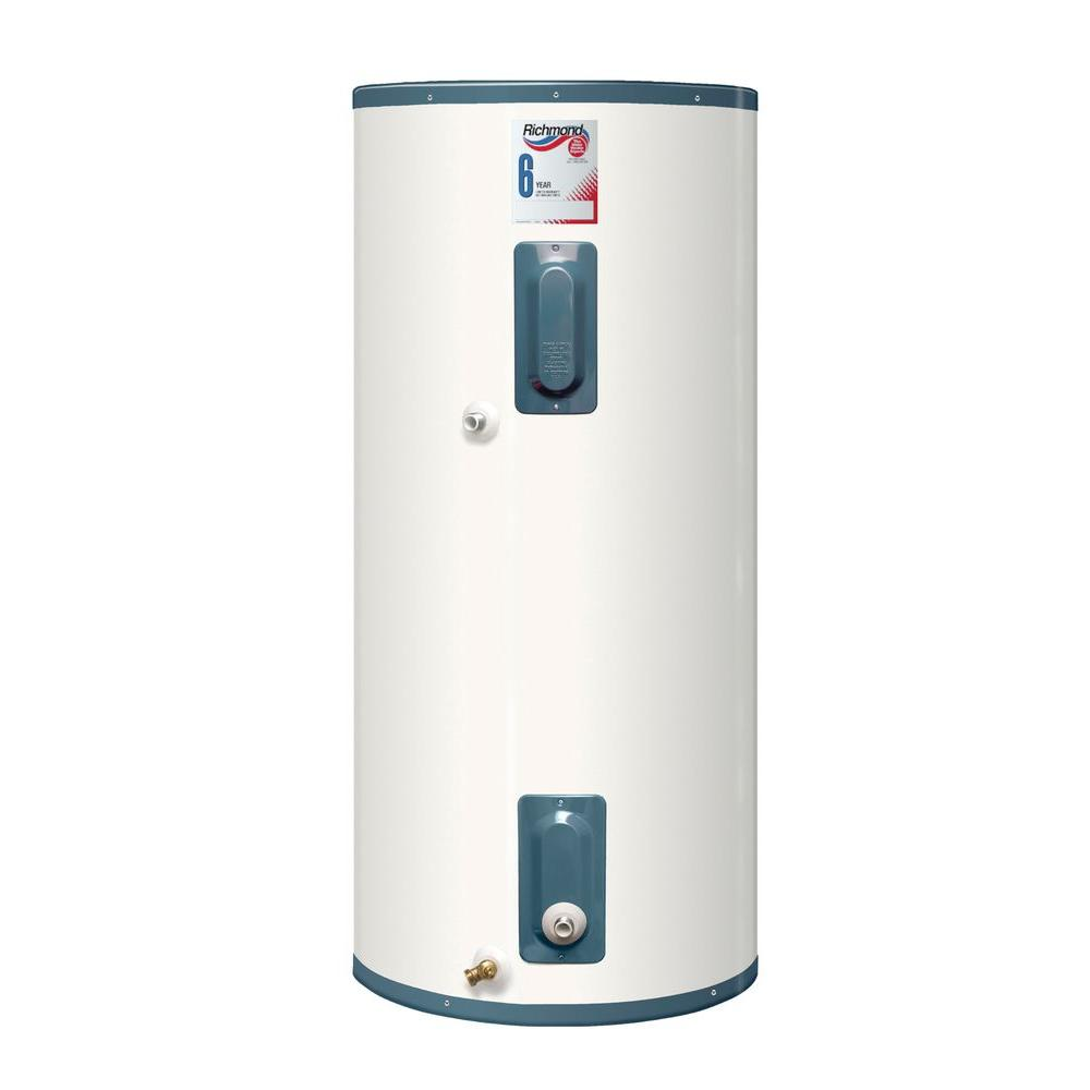 Richmond 120 Gal  Tall 6-Year Solar Electric Water Heater with Universal  Connect