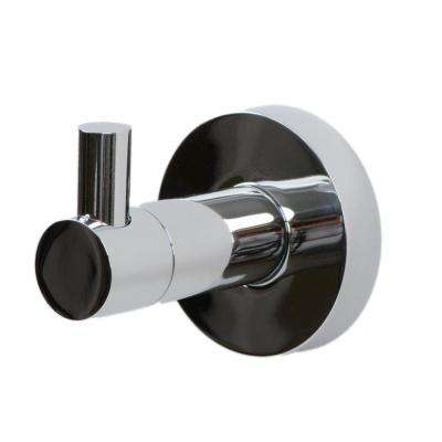 Venezia Single Robe Hook in Polished Chrome