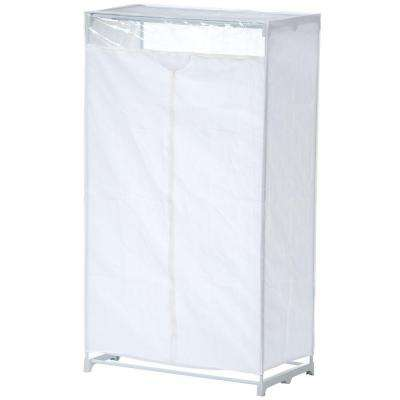 63 in. H x 36 in. W x 20 in. D Portable Closet in White